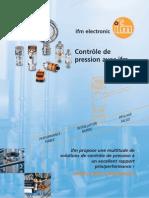 Brochure capteurs de pression France 2013