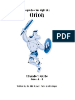 Educ Guide Orion