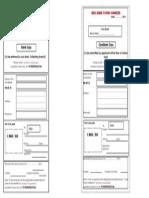 Manipal Deposit Slip-Application Fee