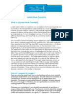 Lymph Node Transfer Info s