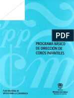 111788826 Programa Basico de Direccion de Coros Infantiles