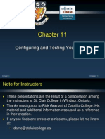 CCNA Network Fundamentals Version 4 0 Chapter 11 Configuring and Testing Your Network