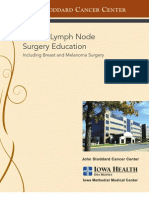 Auxillary Lymph Node Surgery Education