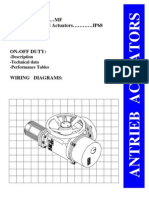 Main Actuator Catalogue
