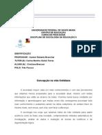 Sociologia Cristiane Bressan Polo Tres Passos