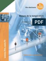 Dépliant température France 2013