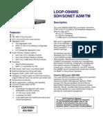 LOOP-O9400S  SDH/SONET ADM/TM