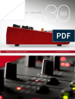 Nord Keyboards Catalogue 2013