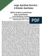 John Lynd Estate 6-20-09