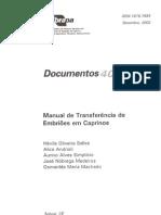 (Embrapa) Manual de TE Em Caprinos 00074840