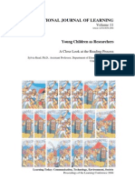 Young Children as Researchers