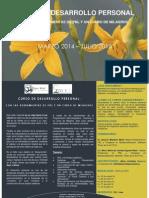 Curso de Desarrollo Personal Marzo-julio'14