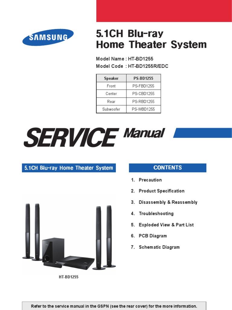 samsung ht c5500 service manual repair guide