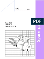 IP 68 Actuator Spares Cat