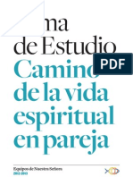 Tema de Estudio 2012-2013 - Camino de La Vida Espiritual en Pareja