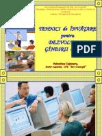 9 Tehnici de Invatare (Descriere)