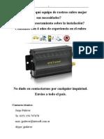Manual Tracker Tk 203