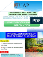 Investigacion en 10 Pasos- Intro