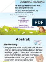 jurnal alergi susu sapi