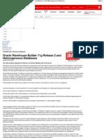 OWB 11g - Heterogeneous Databases