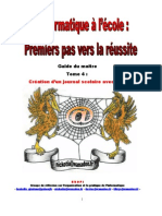 Journal Scolaire Publisher