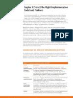 Implementation Partner Modelling