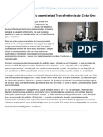 Revistaveterinaria.com.Br-Sexagem Embrionria Associada Transferncia de Embries