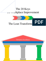 20 Keys to Workplace Improvement (Lean Tools)