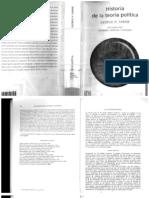 Sabine - Historia de la teoría política
