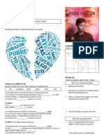 Esteman - Pobre Corazon Worksheet