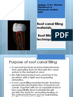 Root Canal Filling Materials