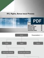 IPO Rights Bonus