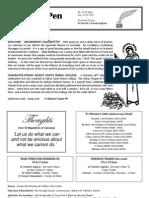 13_14 June 2009 Newsletter