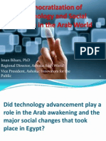 Democratization of Technology and Social Change in Arab World