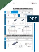 Valvulas Controle de Fluxo e Bloco Modulares