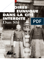 Memoires d'Un Eunuque Dans La Cite Inter - DAN, Shi