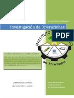 Modelos de Pronosticoo e Inventarios. IO