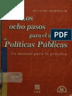 Los Ocho Pasos Para El Analisis de Las Politicas Publicas