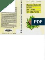 Malinowski Bronislaw - Diario de Campo en Melanesia