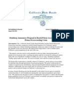 Steinberg California Alternative Prison Plan