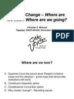 Charter Change 2006