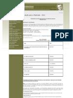 Programa de Pós-graduação em ciências sociais da UFBa 2012