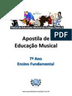 Apostila de Educacao Musical