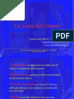 - Criminologia - La Scena Del Crimine e Sopralluogo (by a. Palmegian PdSi)