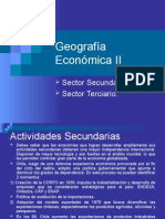 Geografía Económica II