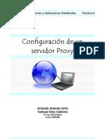 Squid configuracion de un servidor proxy