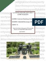 METODOLOGÍA DEL ESTUDIO Y COMUNICACIÓN