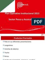 Plan Sectorial Pesquero 2013