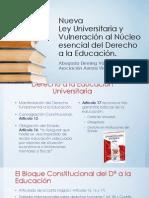 25_06_13 Proyecto de Ley Universitaria y Vulneración al núcleo