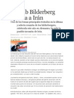 El Club Bilderberg apunta a Irán